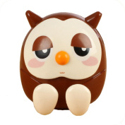 Aurorax 1pc Mini Owl Coin Piggy Bank Multifunctional Gifts Home Decorations