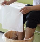 VinewS 200pcs/lot Beauty Towels Super Water Absorbent Non-Woven Hotel Foot Bath Towels Disposable Feet Wipe Towels