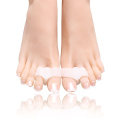 Gel Toe Separators Toe Spacer, Bunion Corrector for Pain Relief by Toe Glow