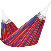 Colombian Hammock - Single 140cm wide - Natural Cotton Cloth