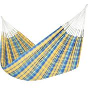 Jumbo Colombian Hammock - Double 160cm x 240cm - Natural Cotton Cloth