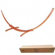 OnCloud 4.6m Wood Arc Hammock Stand Only with Hooks and Chains