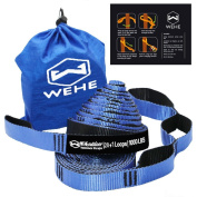 Hammock Straps Extra Strong & Lightweight,40 loops 910kg Breaking Strength,100% No Stretch Polyester,Tree Friendly,Quick & Easy Setup Best Suspension System