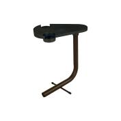 Pawley's Island TBLBKTX Steel Hammock Table, Black