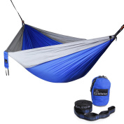 WolfWise ultralight Professional 2-Person Camping Hammocks supports up 180kg