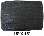 ToolUSA Sunguard 4.6m X 4.6m Black Sunshade Net