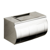 Stainless steel toilet paper box extension/Hand tray/Bathroom toilet paper box/Toilet paper roll tray/frame
