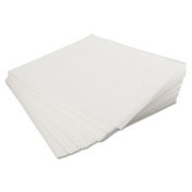 Dst 1,500ct White Airlaid Large Disposable Shop Wipers