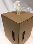 Dst White Disposable Shop Wiper Pop-Up Box