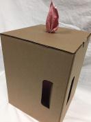 Dst Red Disposable Shop Towel Pop-Up Box