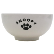 Kanesho Pottery Peanuts Snoopy Simple Face Japanese Rice bowl 604150