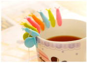 Star Shopinc Cute Snail wineglass label for tea bag hanging Mug cup clip Tea infuser party supplies Novelty household gadgets