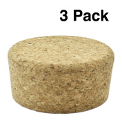 Zoie + Chloe Cork Lids & Stoppers for Mason Canning Jars - 3 Pack
