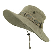 LETHMIK Fishing Sun Boonie Hat Summer UV Protection Cap Outdoor Hunting Hat