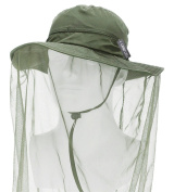 Camo Coll Outdoor Anti-mosquito Mask Hat with Head Net Mesh Face Protection