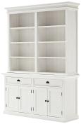 NovaSolo Hutch Bookcase Unit