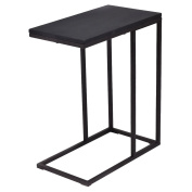 Tangkula Coffee Tray Sofa Side End Table Ottoman Couch Console Stand TV Lap Snack Black