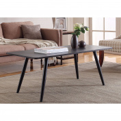 Madison Home Modern and Simply Designed Coffee Table White White Finish