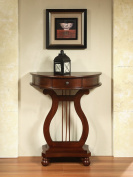 All Things Cedar Half Moon Harp Table