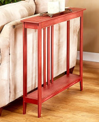 The Lakeside Collection Slim Space-Saving Accent Table