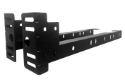 Kings Brand Furniture Bed Frame Footboard Extension Brackets Set Attachment Kit - Twin/Full/Queen/King