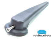 Recliner Handle Lever 1.6cm Square Mount, Set Screw Include, Dark Brown Finish Offered By ProFurnitureParts