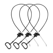 3pack Replacement Recliner Cable-Universal Replacement Cable with Release Handle D-Ring Parachute Style Cable for ashley