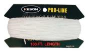 Keson 30m,Replacement Chalk Line, White, RL100