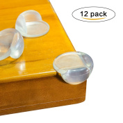 Silicone Soft Clear Table Corner Guards Desk Edge Cushion Edge Protector Safety Furniture Bumpers Sharp Corner Cushion for Home Baby Safety Keep Children Safety Stop Head Injuries