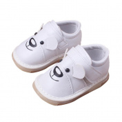 SMYTShop Newborn Baby Boys' Premium Soft Sole Non-slip Infant Prewalker Toddler Sneaker Shoes Mary Jane Shoes 0-24 Months