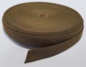 1 YARD - MIL SPEC 2.5cm ELASTIC WEBBING / MOLLE WEBBING - COYOTE BROWN