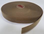 5.1cm COYOTE BROWN SEW-ON HOOK and LOOP FASTENER - LOOP SIDE ONLY - 1 YARD