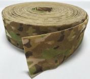 10cm MULTCAM SEW-ON HOOK and LOOP FASTENER - LOOP SIDE ONLY - 1 YARD