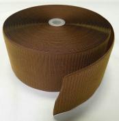10cm COYOTE BROWN SEW-ON HOOK and LOOP FASTENER - HOOK SIDE ONLY - 1 YARD