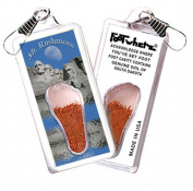 "Mount Rushmore ""FootWhere"" Souvenir Z. Made in USA"