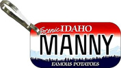 Personalised Idaho 1991 Zipper Pull State Licence Plate Replica
