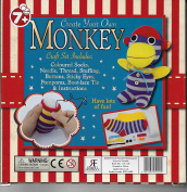 "Retro Craft Toys "" Create Your Own Monkey"" by Robert Frederick"