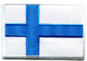 Finland Flag patch Ideal for adorning your jeans, hats, bags, jackets and shirts.