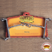 HILASON WESTERN HORSE MOUTH STAINLESS STEEL DRAW GAG BIT