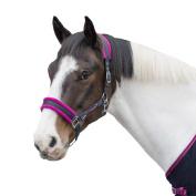 Loveson Headcollar Navy/Pink Horse