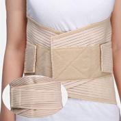 Denshine Medical Grade Lumbosacral Back Support Breathable Compression Lumbar Support Brace Belt