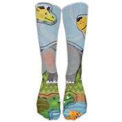 Zoo Animals Athletic Tube Stockings Women's Men's Classics Knee High Socks Sport Long Sock One Size