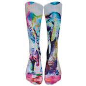 Elephant Athletic Tube Stockings Women's Men's Classics Knee High Socks Sport Long Sock One Size