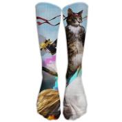 A Lovely Cat Athletic Tube Stockings Women's Men's Classics Knee High Socks Sport Long Sock One Size