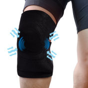 Light Weight Compression Gel Wrap For KNEE Pain Relief. Reusable Cyro Cold Therapy Is Colder Than Ice For Long Lasting Pain Relief From Spasms, Swelling And Sore Muscles. Consistent Temperature.