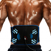 Inflatable Air Compression Gel Wrap For BACK & HIP Pain Relief. Reusable Cyro Cold Therapy Is Colder Than Ice For Long Last Pain Relief From Spasms, Swelling And Sore Muscles. Pneumatic Compression
