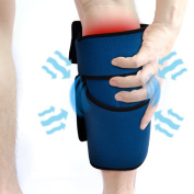 Compression Gel Wrap For CALF Pain Relief. Reusable Cyro Cold Therapy Is Colder Than Ice For Long Lasting Pain Relief From Spasms, Swelling And Sore Muscles. Consistent Temperature For Hours.