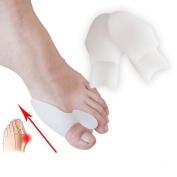 Bunion Corrector, Bunion Relief 2pcs Big Toe Protectors For Bunions Treatment Bunion Gel Toe Separators, Toe Spreader Toe Straightener Toe Spacers Toe Corrector for Toe Alignment Pain Relief