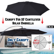 BenefitUSA Replacement Umbrella Canopy for 3m 8 ribs (Canopy Only)