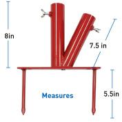 Umbrella Stand - Sports Dual Umbrella Holder - Fishing Pole Stand - Beach Umbrella Stake